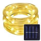 LE 23ft LED Solar Rope Lights, Waterproof, 50 LEDs, 1.2 V,...