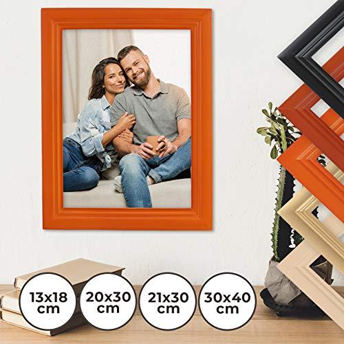 Jago Bilderrahmen Fotorahmen klassisch 20x30cm in 8 verschiedenen Farben