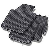 Mossa Gummi Fußmatten - 4-teilig - 100% passgenau - schwarz - Gummimatten - 5902538448666