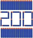 ZWOOS Foam Bullet Darts 7.2cm EVA Blue Foam Darts Recarga de Bala para NERF N-Strike Elite Series...