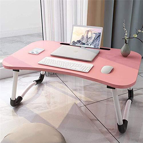 DSHUJC Folding Laptop Schreibtisch Schreibtisch Bett Und Laptop-Tisch Bett Faule Tisch Klappfüße, Für Sofabett Terrasse Balkon Garten Klapptisch