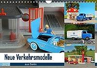 Neue Verkehrsmodelle aus Berlin (Wandkalender 2022 DIN A4 quer): Hier stehen die kleinen Modellautos im Fokus. (Monatskalender, 14 Seiten )
