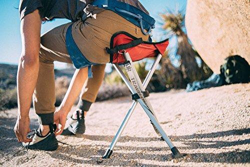 TravelChair Slacker Chair, Tripod Stool, Green