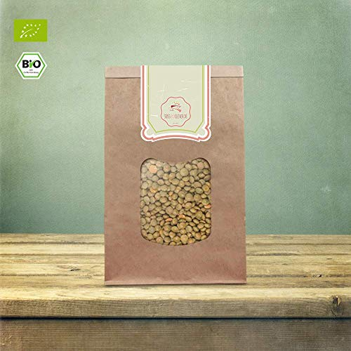 süssundclever.de® Bio Berglinsen   Gourmet   2 x 1 kg   unbehandelt   plastikfrei und ökologisch-nachhaltig abgepackt