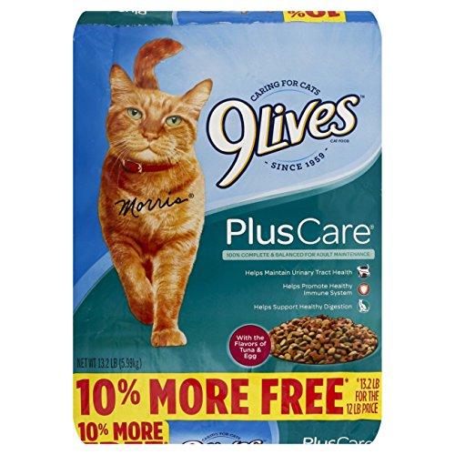 9Lives Plus Care Dry Cat Food, 13.3 Lb