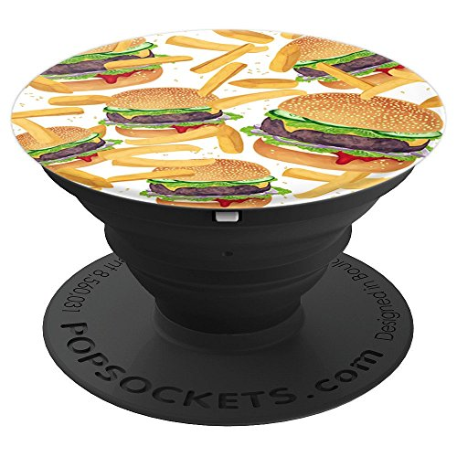 Burger and Fries Food Cheeseburger French Fry Pattern Gift