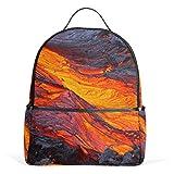 Lava Magma mochila para mujeres adolescentes y niñas, bolso de moda, bolsa de libros, niños, viajes, universidad, casual, para niños preescolares, regreso a casa, suministros mini
