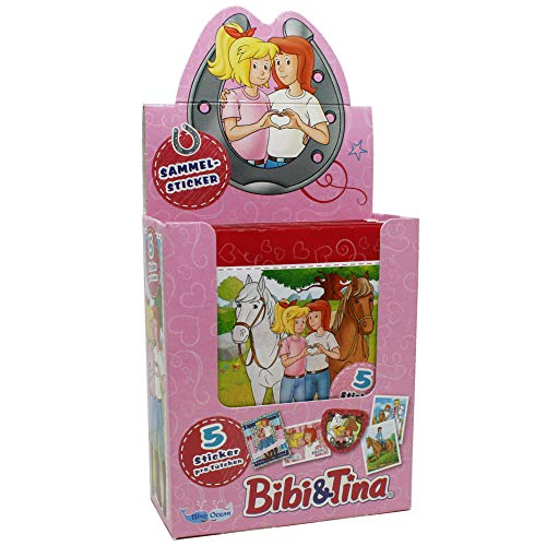Bibi & Tina 2019 - Sammelsticker - 1 Display (36 Tüten)