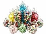 12jar Vintage Viktorianischer Pick & Mix Sweet Shop Candy Buffet-Set Party Pack
