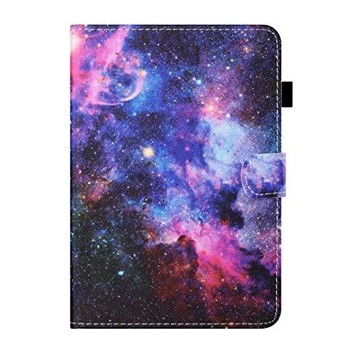 Funda para Samsung Galaxy Tab A 8.0 2019 SM-T290/T295/T297 Tablet Case, a prueba de golpes cuero PU multiángulo visualización función Folip Flip cubierta protectora cielo