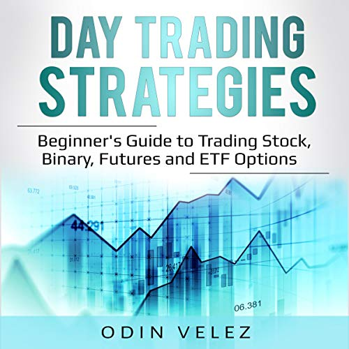 Day Trading Strategies: Beginner's Guide to Trading Stock, Binary, Futures, and ETF Options audiobook cover art