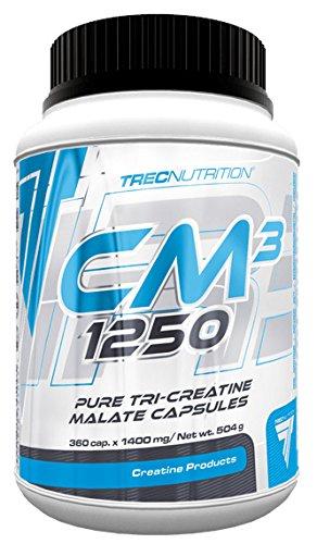 Trec Nurtition CM3 1250 Tri-Kreatin Malate Creatine Museklaufbau Kraft Bodybuilding - 360 cap