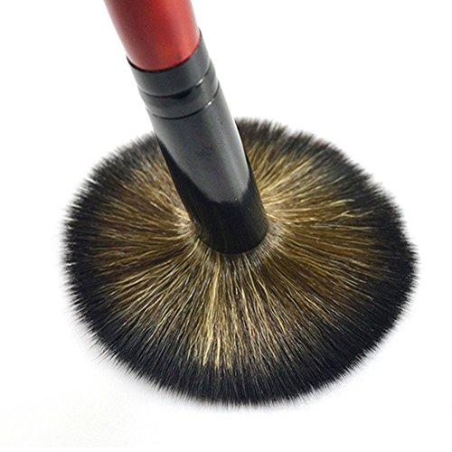 Emorias 1pc Charmant pinceau de maquillage belle brosse de fard à joues brosse de fondation