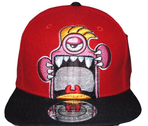 City Hunter - Casquette de Baseball - Homme Rouge Rouge