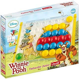 Quercetti Fantacolor Junior Basic–783671–First Age Toy–Winnie The Pooh