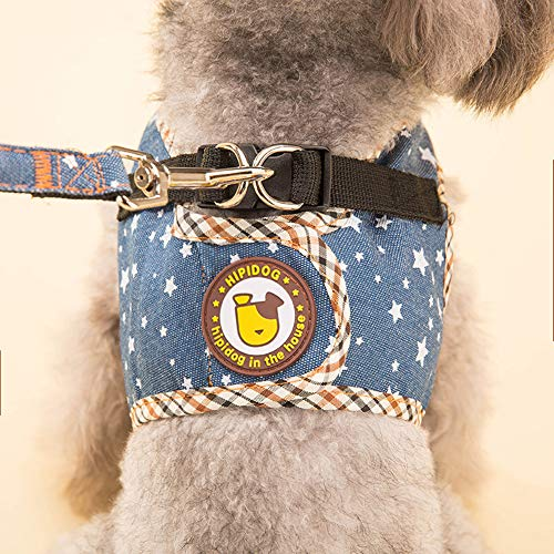 AILYRA Hundehalsband Cowboy-Abschleppseil für Hunde, mit Hundekette, Teddybär, Rücken, Herbst und Winter