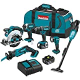 Makita XT614SX1 18V LXT Lithium-Ion Cordless 6-Pc....