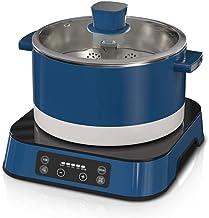 JSMY Pot électrique Multifonctionnel intégré de ménage de Pot Chaud,Pot Chaud électrique branché dans la Fente électrique,...