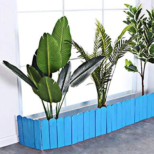 JIANFEI-weilan tuinhek steekhek bloemenperkrand buitendecoratie corrosiebestendig waterdicht, 8 maten, type 2