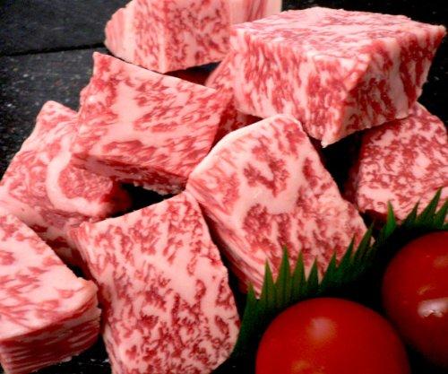 【冷蔵発送】プレミア神戸牛特撰サイコロステーキ 【ステーキ用】500g