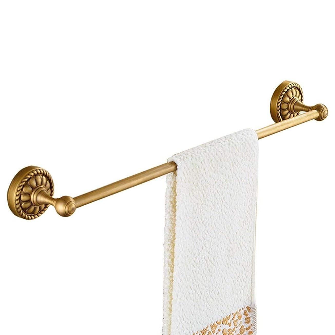 すべて滝人物バスルームシングルタオルバー、バスルームアクセサリー、壁、アンティークの装飾、多機能タオル棚を取り付けマウントネジ (Size : 50cm)