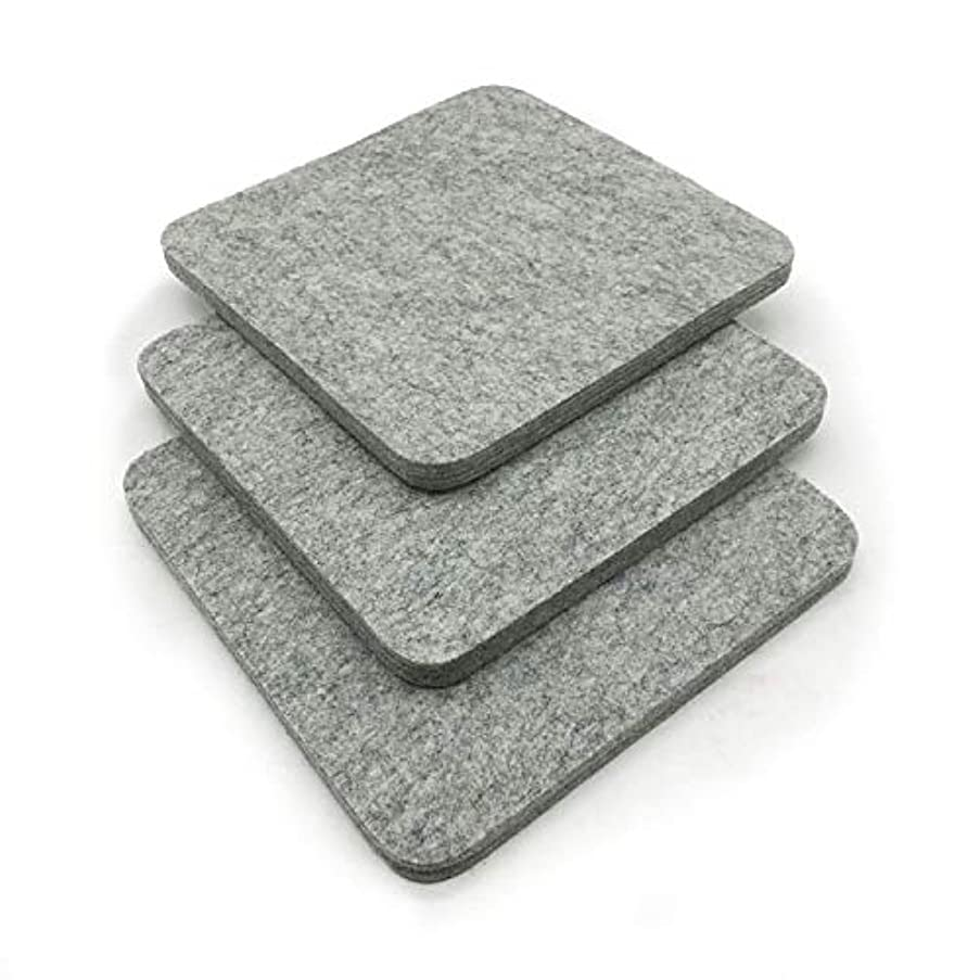 Wool Ironing Mat - Quilting Ironing Pad/Felted Iron Board/Quilters for cast mats/Great for Travel and Quilting/ 9x9, 17 x 17 / fine Felt Square Patch/Top Craft, Sewing, Embroidery Iron Pad