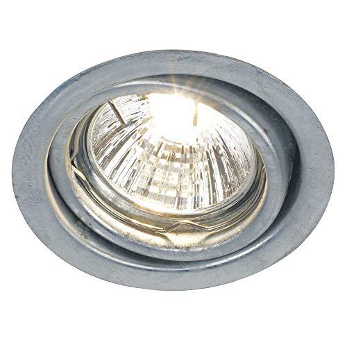 Nordlux 20299931 extérieur Plafonnier, métal, GU10, 7 cm, gris