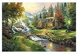 Black Temptation Paisaje Hermoso 1000 Piezas de Puzzle de paisajes Naturales para Adultos y niños