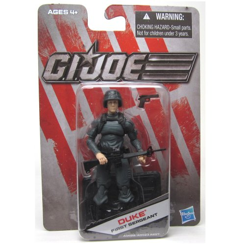 G.I. Joe Exclusive Action Figure, Duke First Sergeant, Gray Outfit by Hasbro