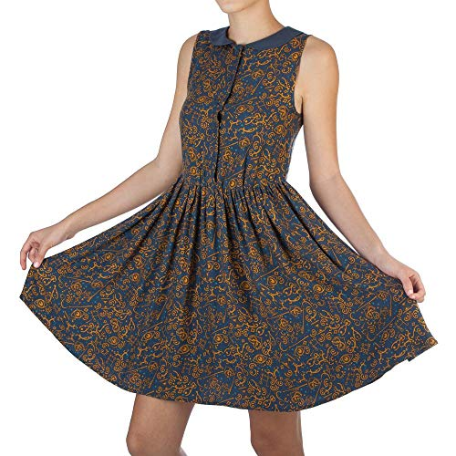 Bioworld Merchandising / Independent Sales Womens Fantastic Beasts and Where to Find Them All-over Print Dress 2X