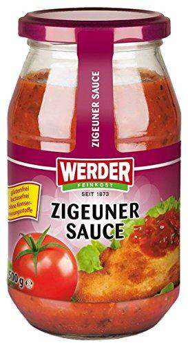 Werder Zigeuner Sauce, 1er Pack (1 x 500 g)