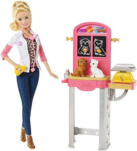 Barbie - Ccp70 - Poupée Mannequin - Vétérinaire