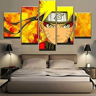 chenyun Affiche de dessin anim/é Naruto Uchiha Itachi Poster d/écoratif sur toile Art mural pour salon Chambre /à coucher