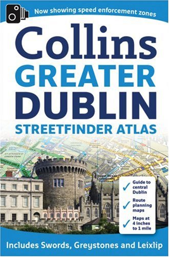Greater Dublin Streetfinder Atlas [Idioma Inglés]