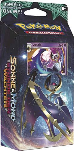 Lively Moments Pokemon Karten Stunde der Wächter Themendeck DE Deutsch Sammelkarten Spielkarten Nebelmond - Lunala