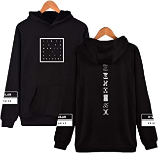 igyuan Monsta X Sweater Hoodie IM Jooheon Wonho Shownu Minhyuk Jacket Pullover