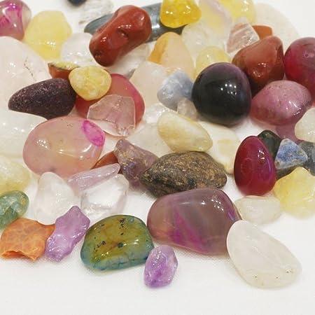 さざれ石 タンブル型 天然石 ミックス 40g A (小粒-大粒)