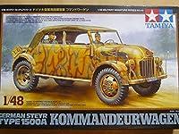 TAMIYA 1/48 ドイツ大型軍用指揮官車 コマンドワーゲン