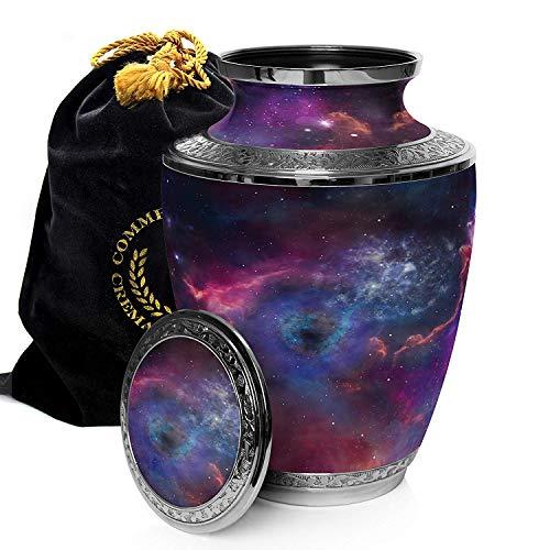 Nebula & Stars Beautiful Brass Urn