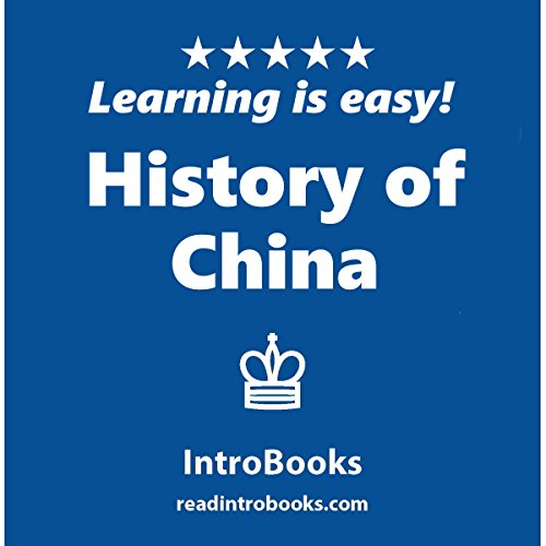 History of China audiobook cover art