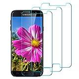 InteCasa [Lot de 3 Verre Trempé pour Samsung J7 2017, Film Protection, écran Protecteur Vitre, Anti Rayures, sans Bulles d'air,...