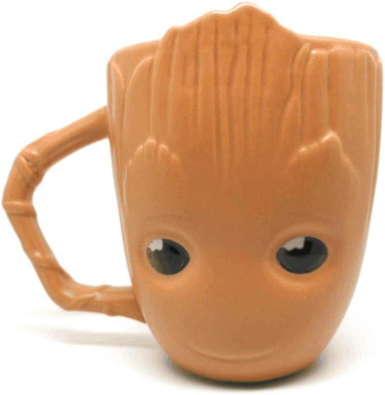 Guardians Of The Galaxy Groot Mug Handmade Ceramic Coffee Water Tea Cocoa Juice Cup 16 Ounce Oz
