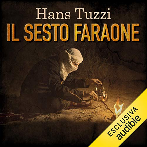 Il sesto faraone audiobook cover art