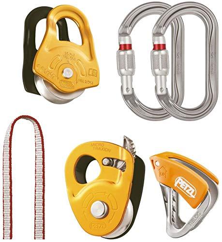 PETZL Unisex– Erwachsene Aid Kit Gletscherspalte Zubehör Für Klettern, Mehrfarbig, Uni