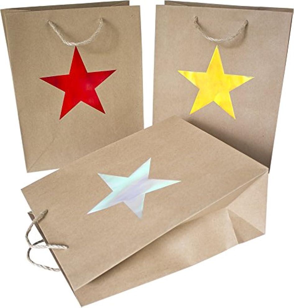 HEKU 30823?Paper Metallic Gift Bag 9?x 28?x 35?cm