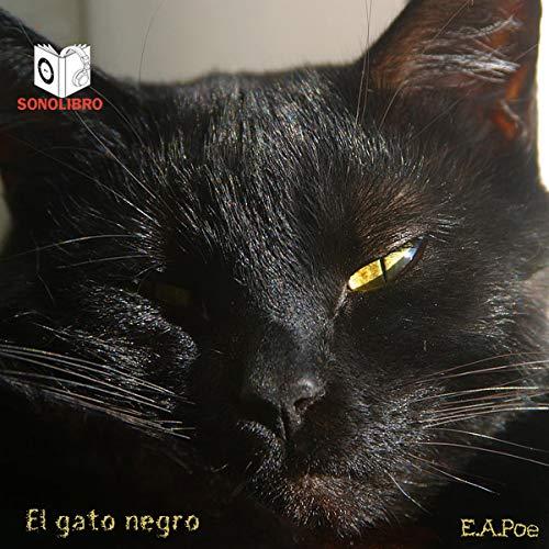 Diseño de la portada del título El gato negro