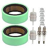 Coolwind 47 083 03-S 47 883 03-S1 Air Filter + Fuel Filter Spark Plug for Kohler K241 K301 K321 K341 K532 K582 M12 M14 Engine Lawn Tractor
