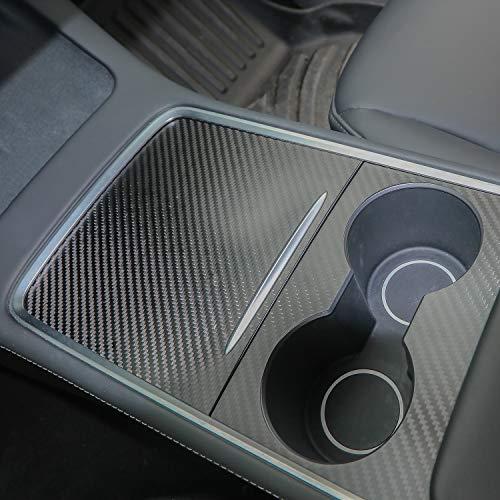 Topfit Tesla Model 3 Model Y 2021 Mittelkonsole Wrap Kit Folie ABS Kunststoff Armlehne Control Panel Center Console Protector Zubehör