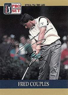 Fred Couples Autographed Signed Memorabilia 1990 Pro Set Pga Tour Golf Trading Card #53 - JSA Authentic