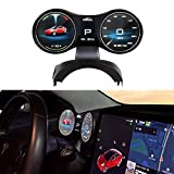 Gauge Cluster Screen Display for Tesla Model Y Model 3 Standard Long Range Performance with Speedometer Gear Display Driving Mode OEM Style Easy Installation for Dashboard
